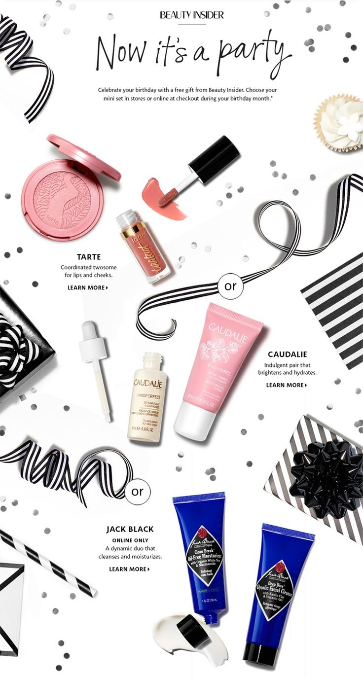 Beauty :: The Sephora 2017 Birthday Rewards have been revealed and there are three sets to take advantage of this year and none of them include Philosophy Birthday Cake Shower Gel (PHEW!). The first one is a Tarte Birthday Set that includes a deluxe Amazonian Blush and as well as Tarteist Lip Paint, the second is a […] The post Sephora 2017 Birthday Rewards appeared first on Musings of a Muse.