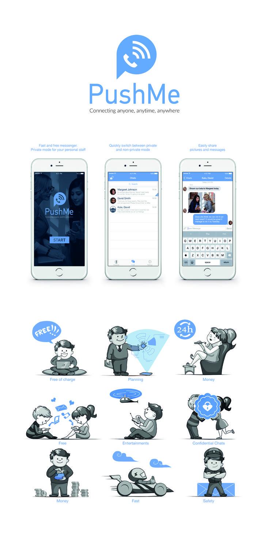 E' facile capire cos'è PushMe Messenger.... e grande sarà il tuo stupore per le sue potenzialità. Scaricalo e condividilo con gli amici. Diventa anche tu co-proprietario dell'applicazione. www.pushmeapp.org vers. Apple e Android. #PushMeGeneration #PushMeMessenger