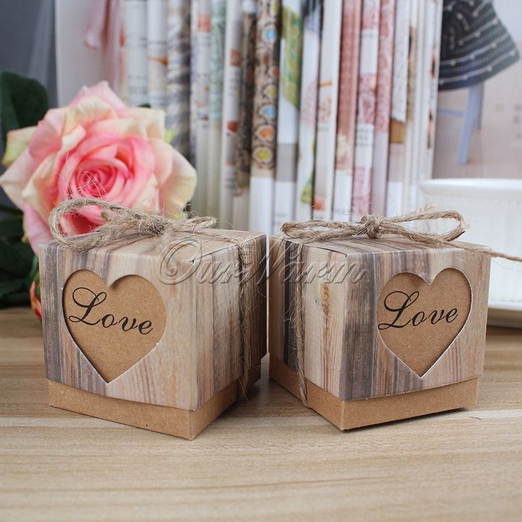 50pcs Wedding Favour Favor Sweet Cake Gift Candy Boxes Bags Anniversary Party #OURWARM #cute