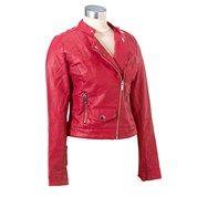 Perforated Faux Leather Moto Jacket Jr 161504930 | Junior | Juniors | Burlington Coat Factory