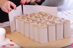 Créez votre calendrier de l'avent 100% récup' avec des rouleaux de papier…