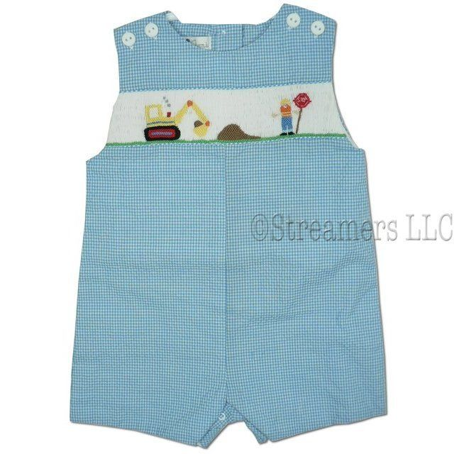 smocked clothing for baby boys - Google Search