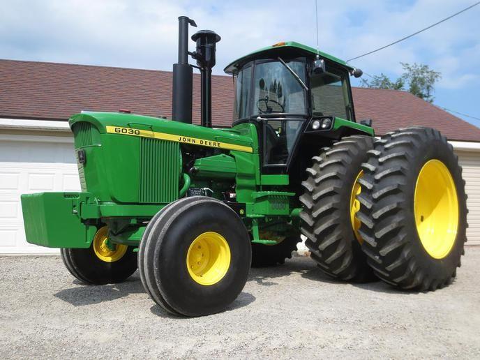 John Deere 6030 Sound Gard Body Yesterday's Tractors - Project Journal