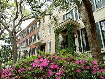 Savannah, GA...  will hold a special place in my heart forever.  It's beautiful beyond words and pictures, rich with history, architecture and oddities.  Majestic oaks dripping spanish moss and the scent of wisteria...