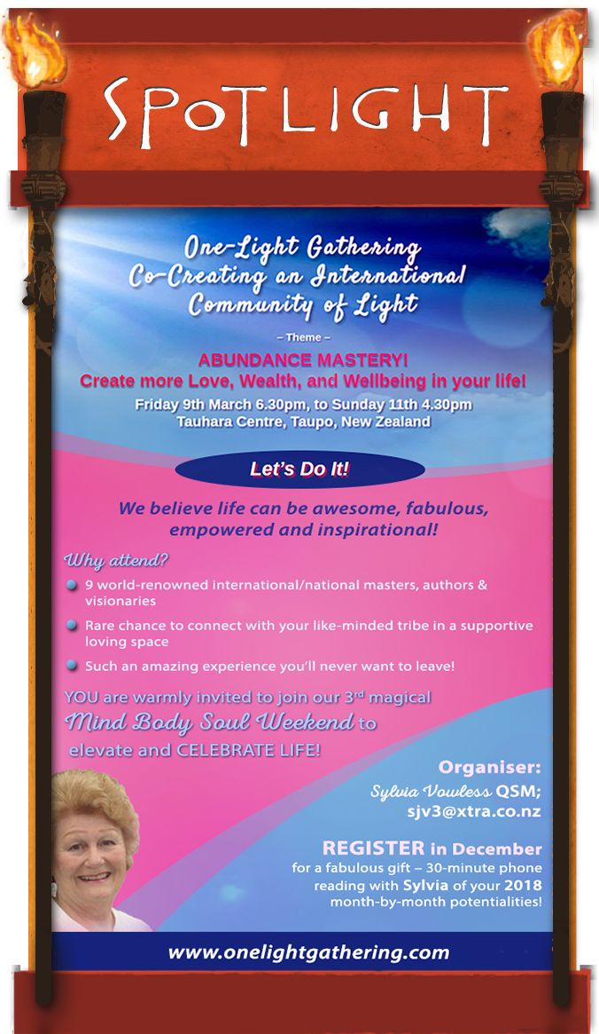 Create more love and light with fellow travelers.  Find out more . . DrumRoll ... and the beat goes out ... Issue 91 sent Wed 6th December. http://conta.cc/2A9kXUg  #DrumRoll #DrumRollPromotions #NewZealand #wellbeing #connection #community #advertising #promote   #Sylvia #OneLightGathering