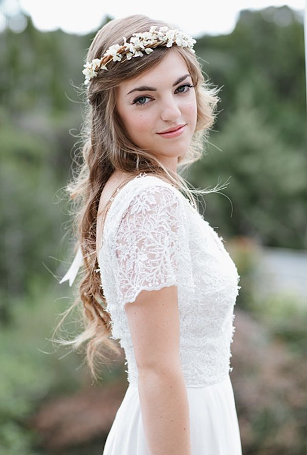 Best 25 Headband Wedding Hair Ideas On Pinterest