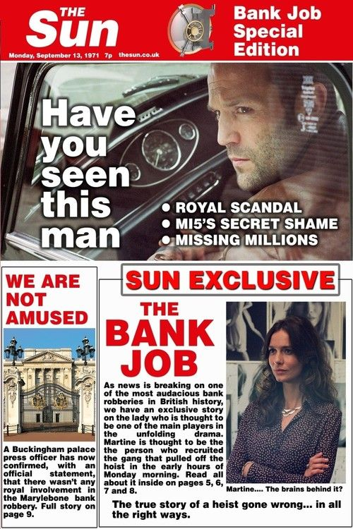 Watch The Bank Job (2008) Full Movie Online Free