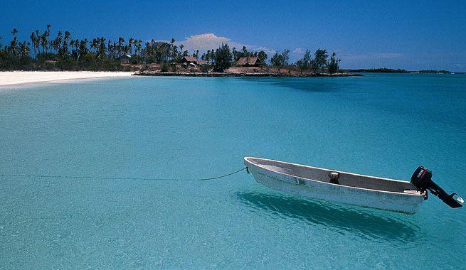 Las playas de Ibo Island en Mozambique