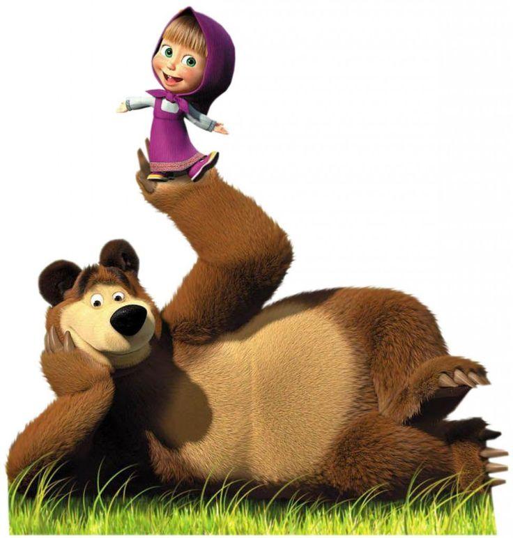 Masha e o Urso - desenho animado russo