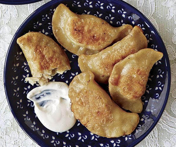 A Polish cookbook author shares her grandmother's recipe for tender potato-and-cheese-filled dumplings.