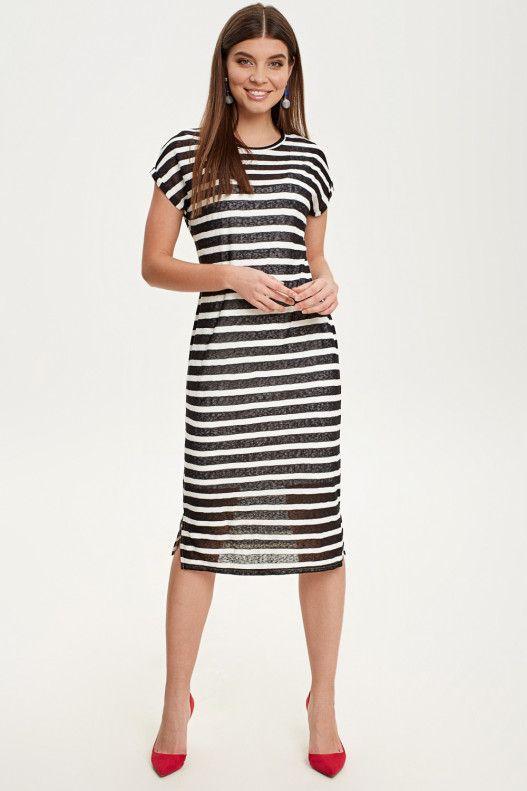 fe07375d1a5 Платье миди в полоску - купить в интернет-магазине Concept Club ...