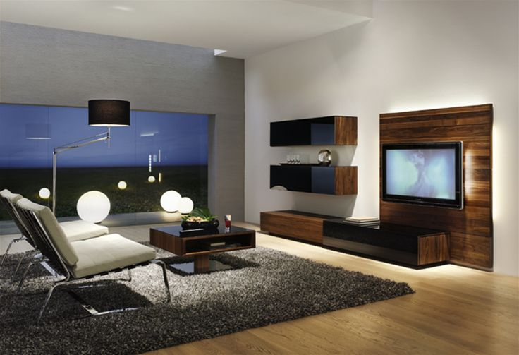Modern tv room interior latest furniture trendslatest furniture trends sweet home - Deco lounge tv ...