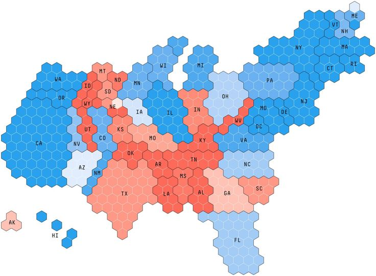There Are Better Ways To Map Voting Results So Why Do We Stick With The Same Old Red And Blue