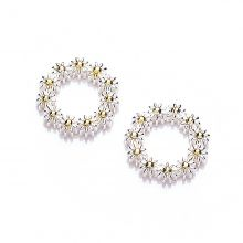 Vintage Daisy 10mm Iota Earrings