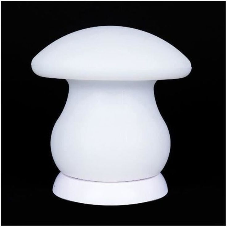BATIMEX Champignon lumineux Led sans fil télécommandable 20cm – Multicolore