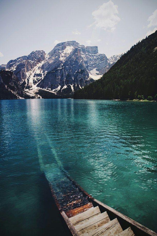 beautiful, lake, mountain, nature