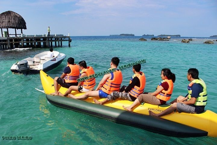 Pulau Serib Island Jakarta - Package Kepulauan Seribu island, http://kepulauan-seribu.com #pulauserib #kepulauanseribu