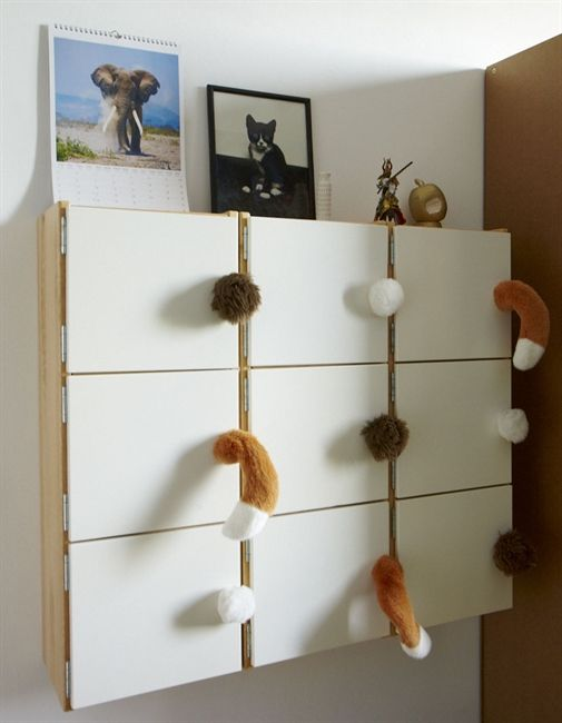 Quirky children's storage Inspired by IKEA