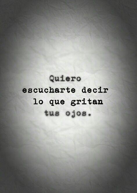 Quiero...