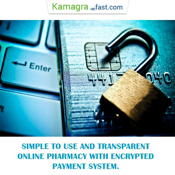 Simple to use and transparent online pharmacy with encrypted payment system.