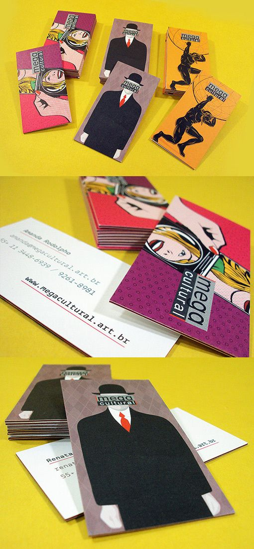 Megacultural   Must be printed - #businesscard