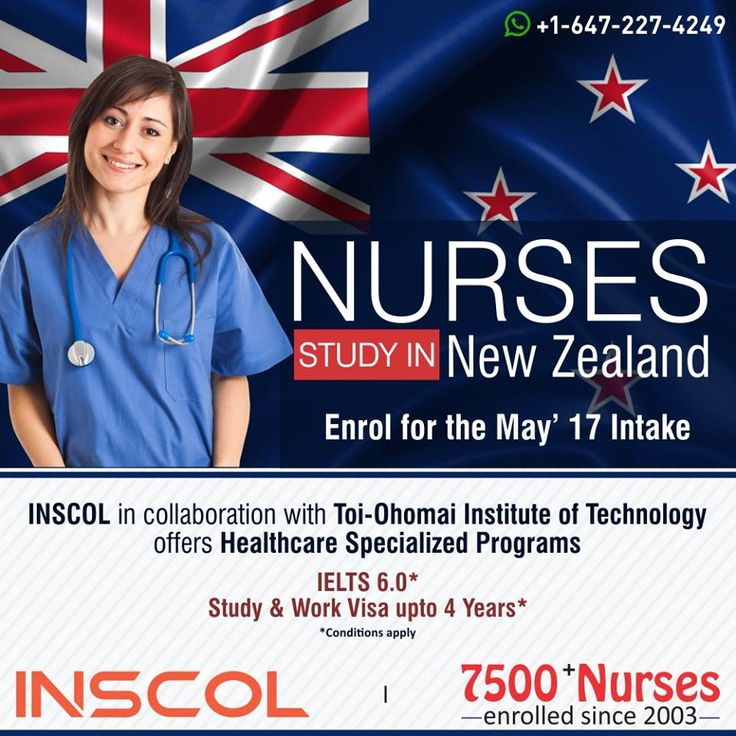 Great Opportunity for #Nurses who wants to 'Study, Work and Live' in #NewZealand. Enrol now for May'17 intake.  To Know more Log on to: http://www.inscol.com/canada/academic-courses/new-zealand-nursing-courses