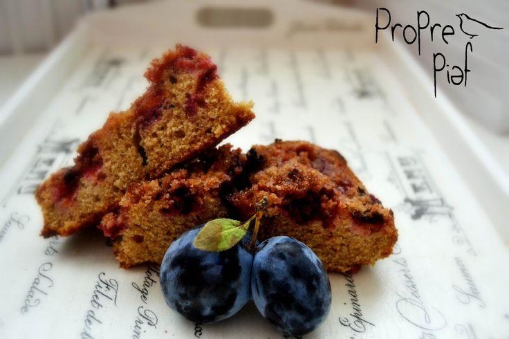 Proprepiaf: Drobenkový švestkový koláč