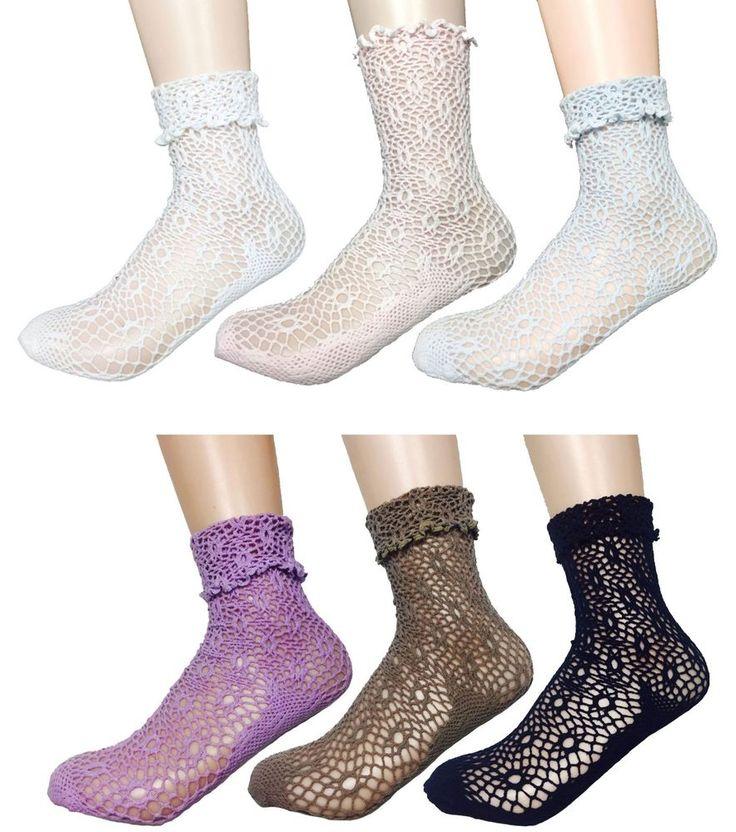 New Women Summer Mesh NET Cotton Socks_6 options