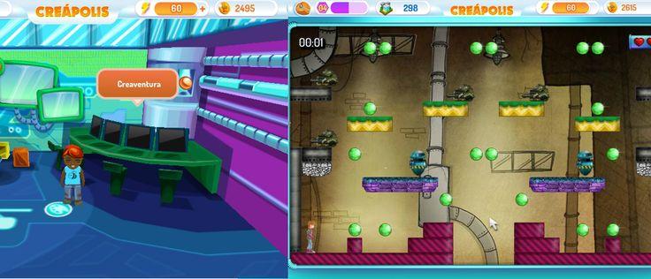 Con el Creaventura del Aula de Informática podrás hacer tus propios videojuegos! hazlos desafiantes y divertidos!