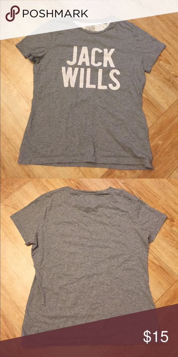 Jack Wills T-Shirt Jack Wills Short Sleeve T-shirt. 100% cotton. Very fitted and runs a bit small. UK size is 14. US size is 10. Jack Wills Tops Tees - Short Sleeve