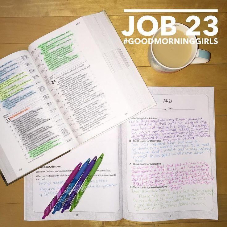 JOB 23 Book of job, Bible reading plan, Online bible study