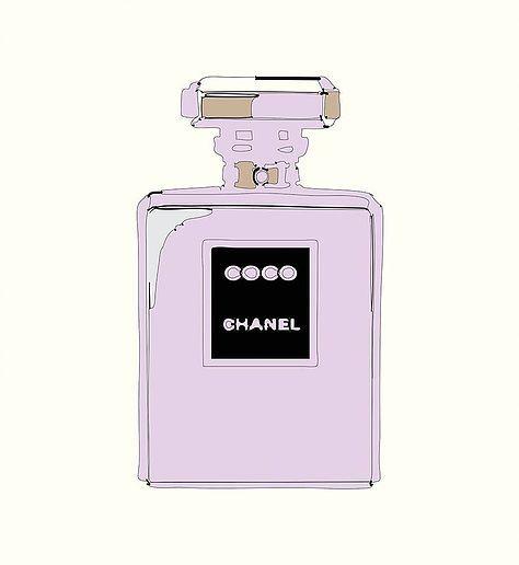 Chanel Noir Mauve. FSH009
