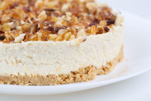 ⚡ Solo 15 minutos para hacer esta tarta de nueces sin horno    #TartaDeNuecesSinHorno #TartaDeNueces #PostresSinHorno