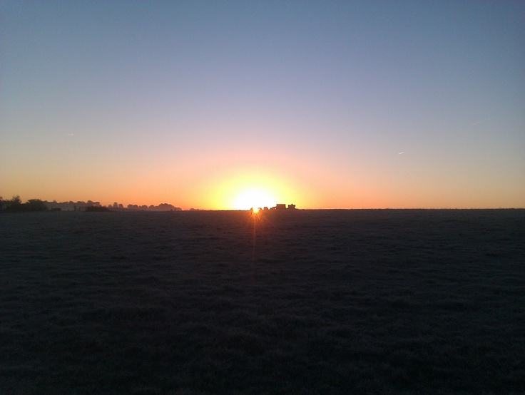 Sun Rise over Stonehenge