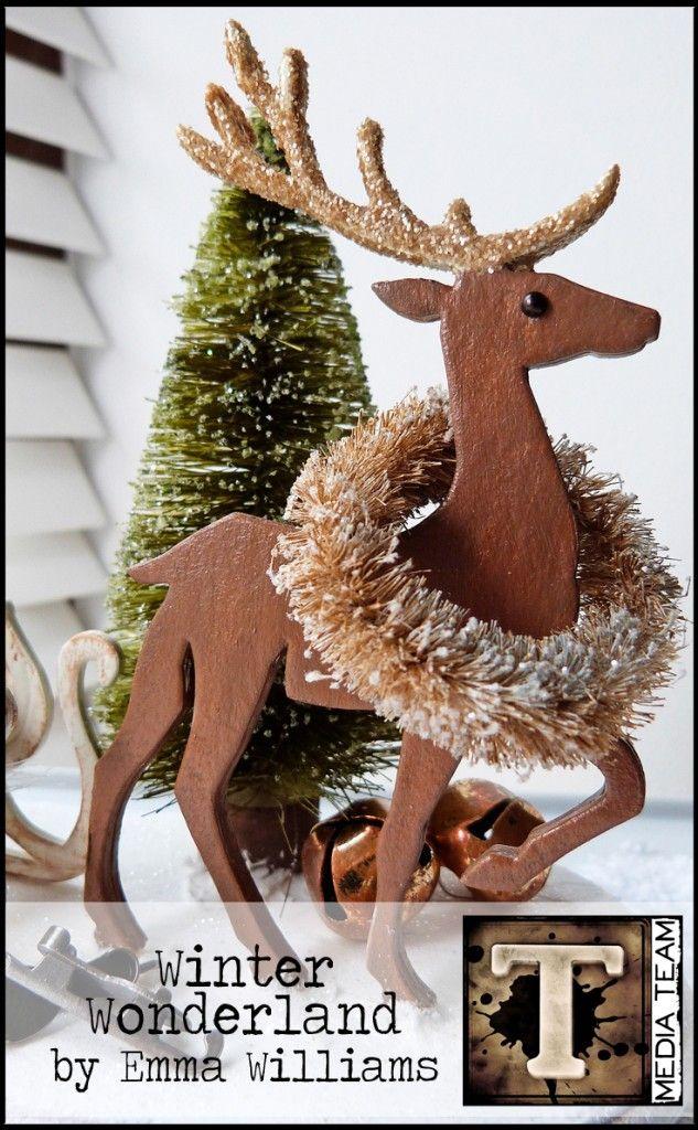Winter Wonderland Decor by Emma Williams | www.timholtz.com
