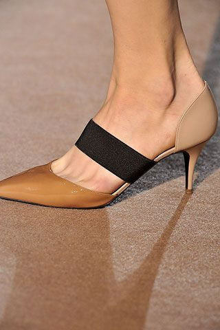 This looks great - not sure they would stay on my heel, but I like it. Stella McCartney heels. Need these.