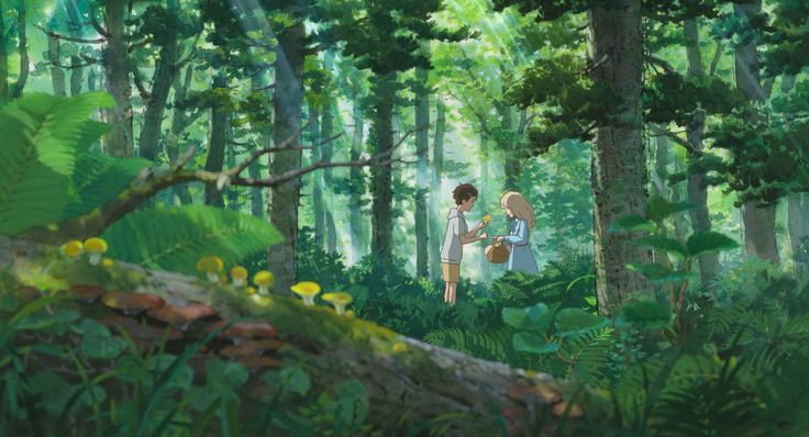 Studio Ghibli art is actually too beautiful♡ #When Marnie Was There