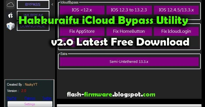 Downloadhakkuraifu Iphone Activation Lock Remove Feature Ios 12 X Support Ios 12 3 To 13 2 3 Ios 12 4 5 To 13 3 X Icloud Marketing Software Email Software