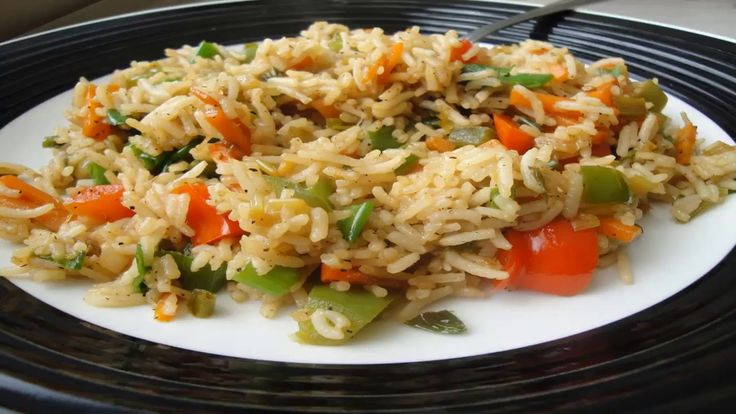 How To Make Chinese Rice Recipe In Urdu/Hindi Video