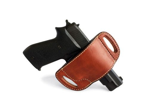 Pancake Holsters, guns, open-carry, leather