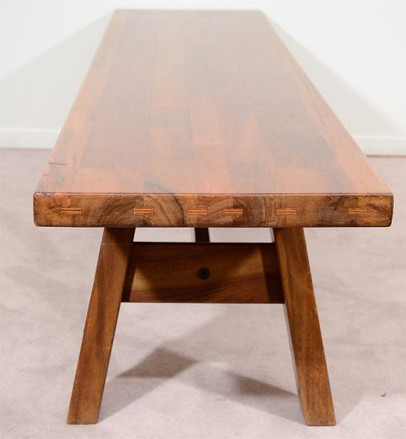 Midcentury Giovanni Michelucci Bench for by DanishModernPlus