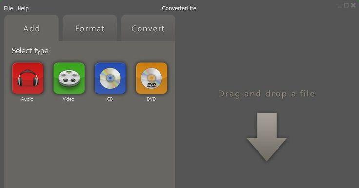 Το ConverterLite είναι μία εφαρμογή με μινιμαλιστικό απλό interface με το οποίο μπορείτε να μετατρέψετε αρχεία ήχου και βίντεο και να κάνετε Rip τα DVD ή τα CD σας. Απλά προσθέστε το αρχείο σας επιλέξτε μια μορφή ή συσκευή και μετατρέψτε τα. Κάντε τα αρχεία ήχου και βίντεο συμβατά για iPhone iPad Android PSP το PS3 Blackberry και ακόμη και για την εγγραφή DVD. Μπορείτε να μετατρέψετε αρχεία MP3 σε AC3 MP4 OGG WAV και WMV. Μπορείτε επίσης να μετατρέψετε mp4 σε mp3 και οποιαδήποτε ταινία ήχου…