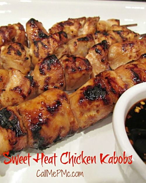 Sweet Heat Chicken Kabobs
