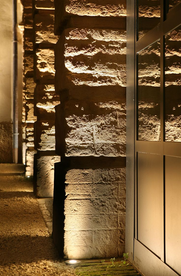 In ground lighting executed correctly.  Browse our collection at our website: www.royalelighting.com