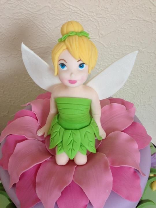 17 Best Images About Tinker Bell Cupcakes On Pinterest