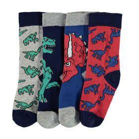 4 Pack Casual Crew Socks
