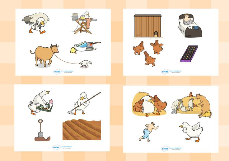 Twinkl Resources >> Farmer Duck Story Cut Outs >> Printable resources for Primary, EYFS, KS1 and SEN. Thousands of classroom displays and teaching aids! Farmer Duck, Story Books, Cut Outs