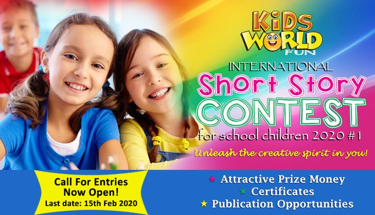 Story Writing Contest for Children. Join the best