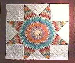Lone star quilt tutorial