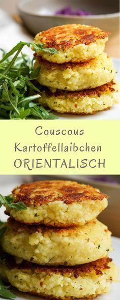 Kartoffellaibchen : ein Rezept für Kinder mit orientalischem Aroma!